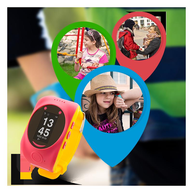 Smart GPS/GSM tracker watch