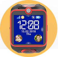Hodinky MyKi Touch GPS/GSM